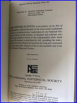 War of the rebellion official records Book Set. Confederate Arms. Civil war 129v
